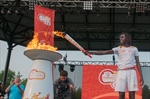 Former Sudanese child soldier thrilled to carry Pan Am torch at Afrofest in Tornto-image1